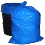 72LT BLUE GARBAGE BAGS - CTN X 500 IN FLATPACK