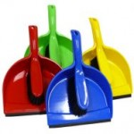 DUST PAN & BRUSH SET - STANDARD