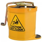 16LT PLASTIC MOP BUCKET (YELLOW)