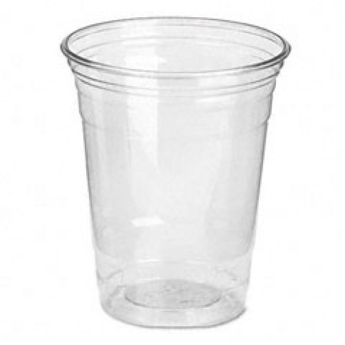 285ml Clear Hard Plastic Cups Carton X 1000