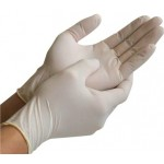 DISPOSABLE LIGHTLY - POWDERED LATEX GLOVES - SMALL (PK-110)