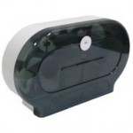 TWIN JUMBO ROLL DISPENSER- PLASTIC (NAB)