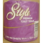 TOILET PAPER ROLLS 2 PLY 400 SHEETS (CARTON OF 48 ROLLS) – ABC 8877