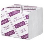 TOILET TISSUE INTERLEAVED 2 PLY (36 PACKS X 250 SHEETS) - CAPRICE 245CW