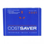 TOILET PAPER PACKETS ( 72 PACKETS X 200 SHEETS) - COST SAVER 4301